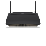Linksys EA6100 router inalámbrico Doble banda (2,4 GHz / 5 GHz) Ethernet rápido Negro