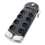"APC PL8VT3-FR surge protector Black 8 AC outlet(s) 230 V 96.1"" (2.44 m)"