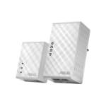 ASUS PL-N12 Kit 500Mbit/s Ethernet LAN Wi-Fi White 2pc(s) PowerLine network adapter