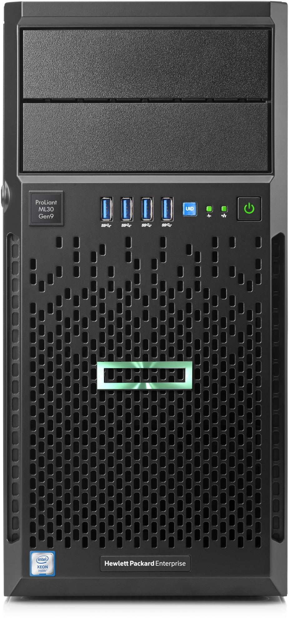 Hewlett Packard Enterprise ProLiant ML30 Gen9 3GHz E3-1220V6 350W Tower (4U) server