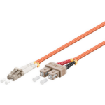 Microconnect FIB420010-2DC 10m LC SC Orange fiber optic cable