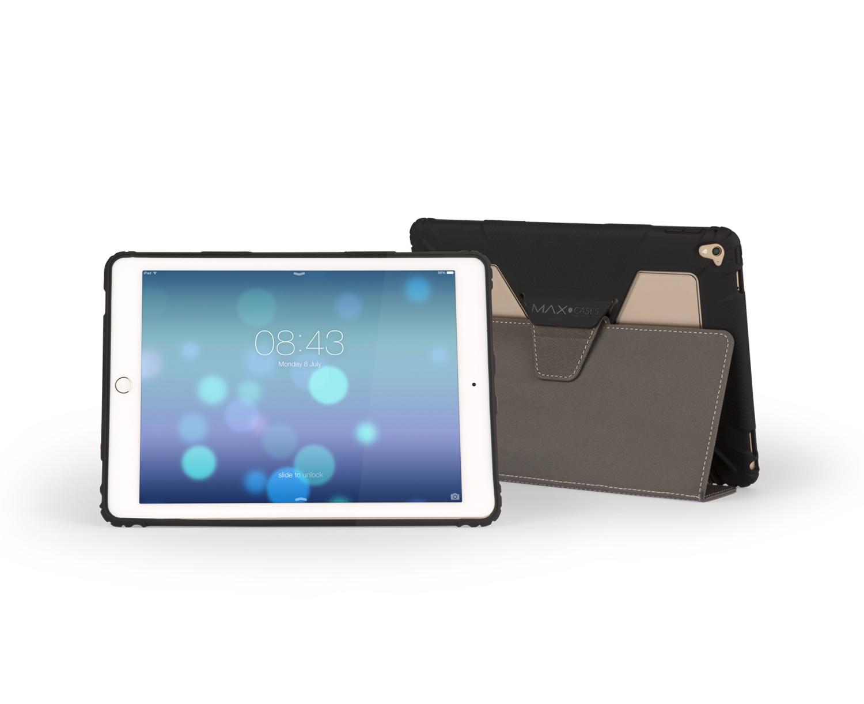 """Max Cases AP-EF-IP5-9-BLK tablet case 24.6 cm (9.7"""") Shell case Black"""