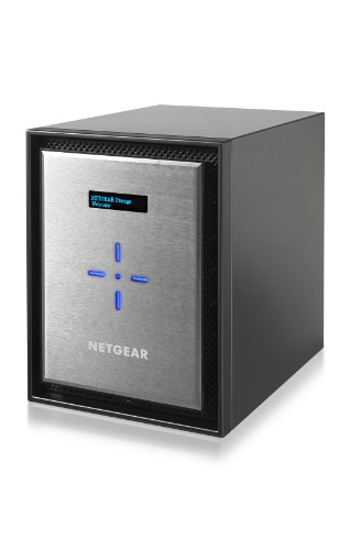 Netgear ReadyNAS 526X Ethernet LAN Mini Tower Black, Silver NAS