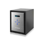 Netgear ReadyNAS 526X Ethernet LAN Mini Tower Black,Silver NAS
