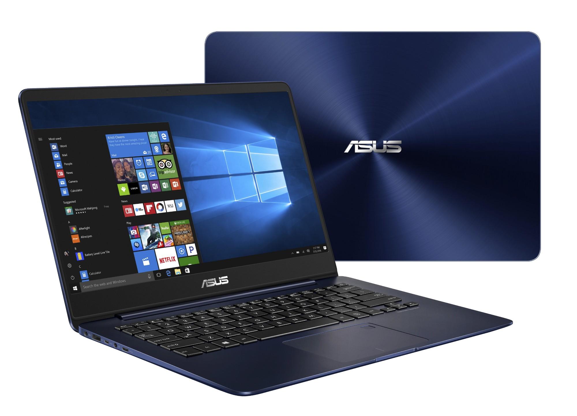 """ASUS ZenBook UX430UA-GV232T 2.7GHz i7-7500U 14"""" 1920 x 1080pixels Blue Notebook"""
