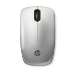 HP Z3200 Silver Wireless Mouse RF Wireless Optical 1600DPI Ambidextrous Silver mice