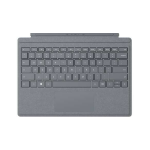 Microsoft Surface Pro Signature Type Cover mobile device keyboard QWERTY UK English Platinum Microsoft Cover port