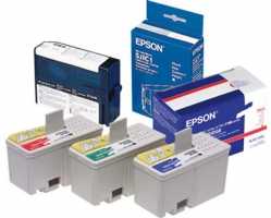Epson Ink cartridge for TM-J2100 (Red) / SJIC4(R)
