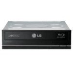 LG Blu-ray Disc Rewriter optical disc drive Internal Black