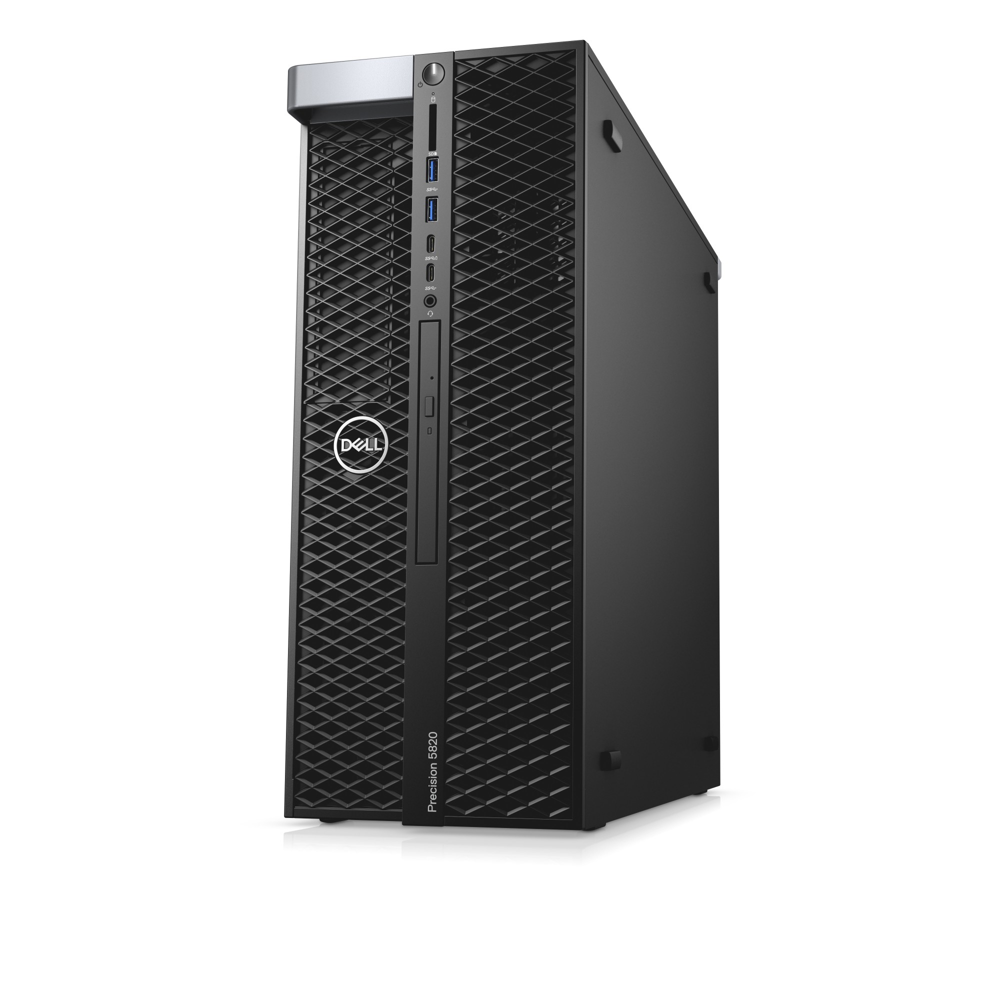 DELL Precision 5820 Intel® Xeon® W-2123 16 GB DDR4-SDRAM 512 GB SSD Black  Tower Workstation