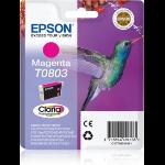 Epson Hummingbird Singlepack Magenta T0803 Claria Photographic Ink