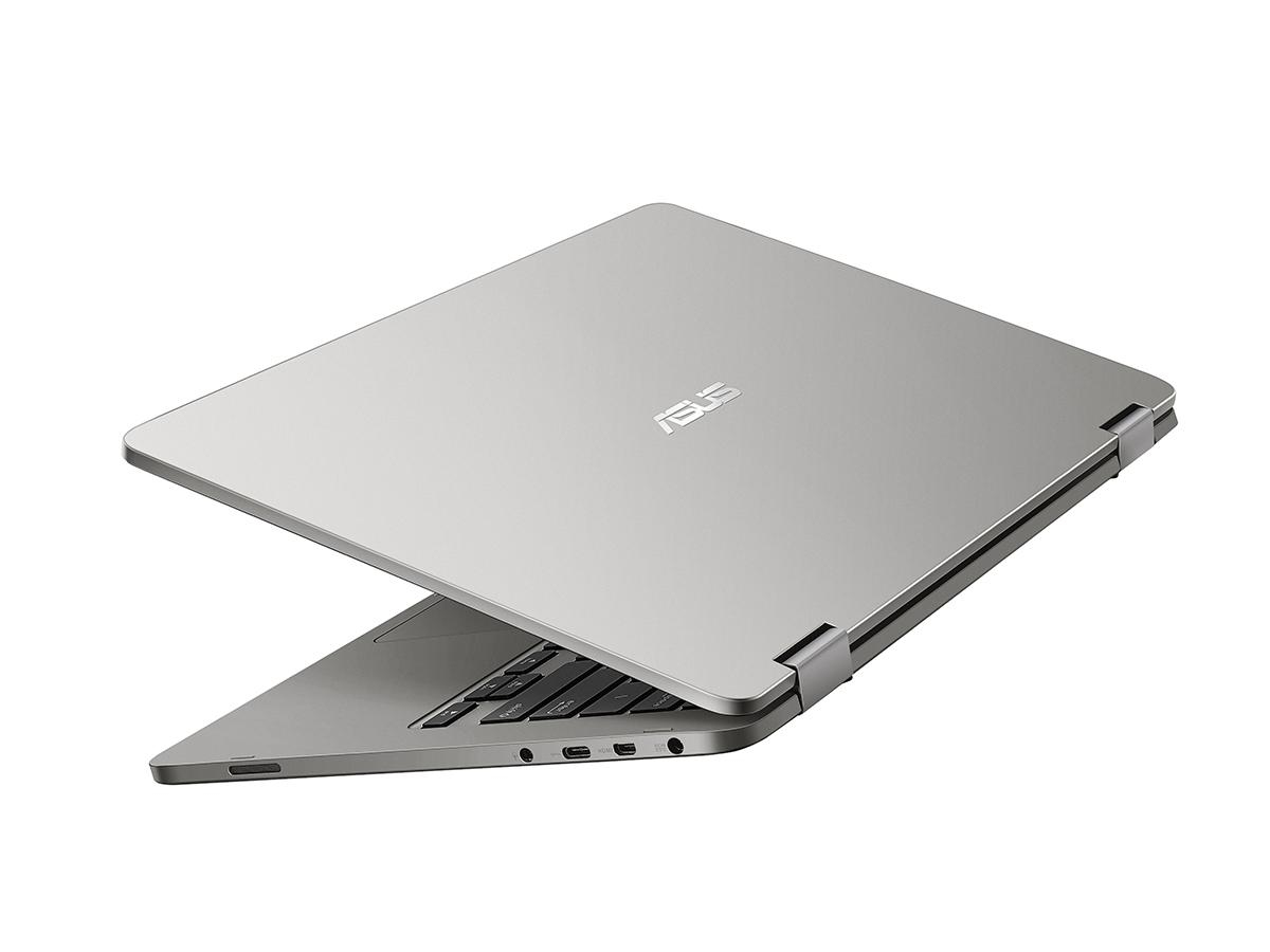 Asus Vivobook Flip Tp401ca Bz032t 1ghz M3 7y30 14 1366 X 768pixels Frame Keybord Laptop 455 Casing Touchscreen Grey Hybrid 2 In 1