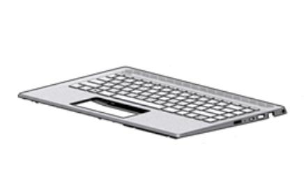 HP L19191-B31 notebook spare part Housing base + keyboard