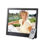 "Intenso 8"" Media Artist digital photo frame 20.3 cm (8"") Black"