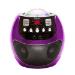 Goodmans XXB13CDGPUR Portable Wired karaoke system