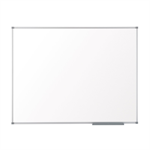 Nobo Prestige Enamel Magnetic Eco Whiteboard 1200x900mm with Aluminium Trim