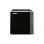 QNAP TS-453D NAS Tower Ethernet LAN Black J4125