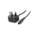 Microconnect UK Power - IEC 320 C7, 3M 3m Black power cable