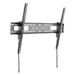 StarTech.com TV Wall Mount supports 60-100 inch VESA Displays (165lb/75kg) - Heavy Duty Tilting Universal TV Wall Mount - Adjustable Mounting Bracket for Large Flat Screens - Low Profile