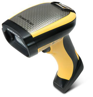 Datalogic PowerScan PM9500-DPM Handheld bar code reader Laser Black,Yellow
