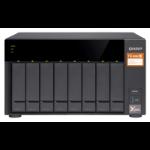 QNAP TS-832X Ethernet LAN Tower Black NAS TS-832X-2G/64TB-EXOS