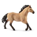 SCHLEICH Horse Club Quarter Horse Stallion Toy Figure, 5 to 12 Years, Tan/Black (13853)