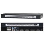 Belkin OmniView PRO3 USB & PS/2 KVM Switch Black KVM switch