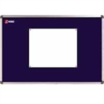 Nobo Classic Felt Noticeboard Blue 1800x1200mm