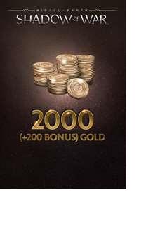 Microsoft Middle-Earth: Shadow of War 2000 (+200 Bonus) Gold