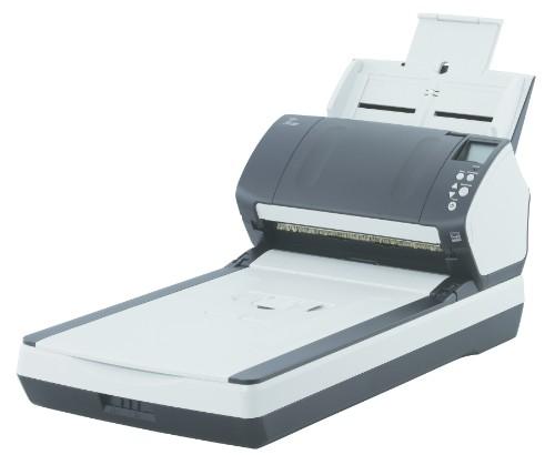Fujitsu fi-7260 600 x 600 DPI Flatbed & ADF scanner Black,White A4