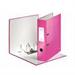 Leitz 180° WOW Cardboard Pink ring binder