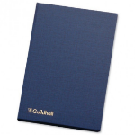 Guildhall Account Book Casebound 298x203mm 14 Cash Column 80 Pages Blue 31/14Z