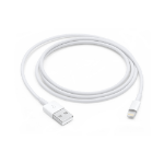 Apple MXLY2ZM/A cable de conector Lightning 1 m Blanco