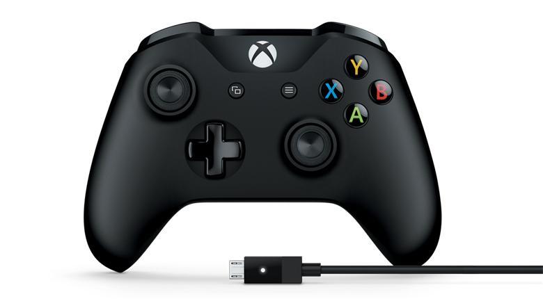 Microsoft 4N6-00003 Black Gamepad PC, Xbox One gaming controller