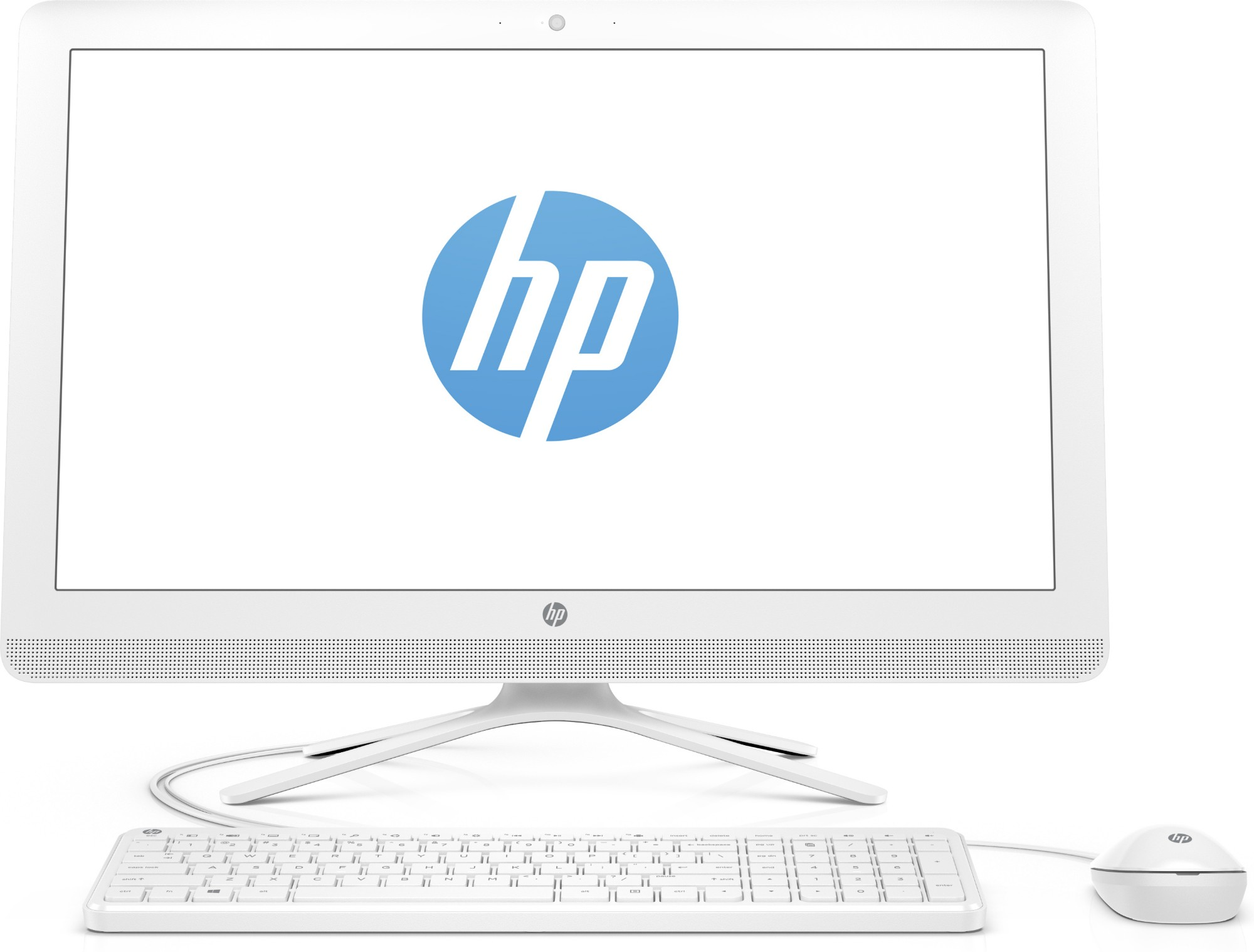 "HP 24 -g004na 1.6GHz J3710 23.8"" 1920 x 1080pixels White All-in-One PC"