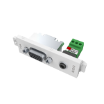 Vision TC3 VGAF3.5MMD VGA + 3.5 mm White socket-outlet
