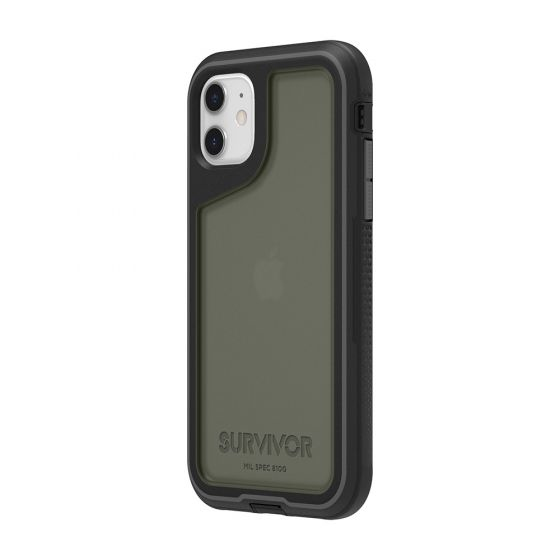 """Griffin GIP-032-BKG mobile phone case 15.5 cm (6.1"""") Cover Graphite"""