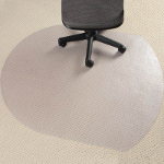 MARBIG GLASS CLEAR CHAIRMAT CONTEMPO 990 X 1240MM