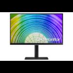 """Samsung LS24A600UCUXXU computer monitor 61 cm (24"""") 2560 x 1440 pixels Quad HD Black"""