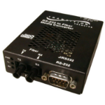 Transition Networks J/RS232-TF-01 RS-232 Fiber (ST) serial converter/repeater/isolator