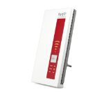 AVM FRITZ!WLAN Repeater 1160 800Mbit/s Rood, Wit
