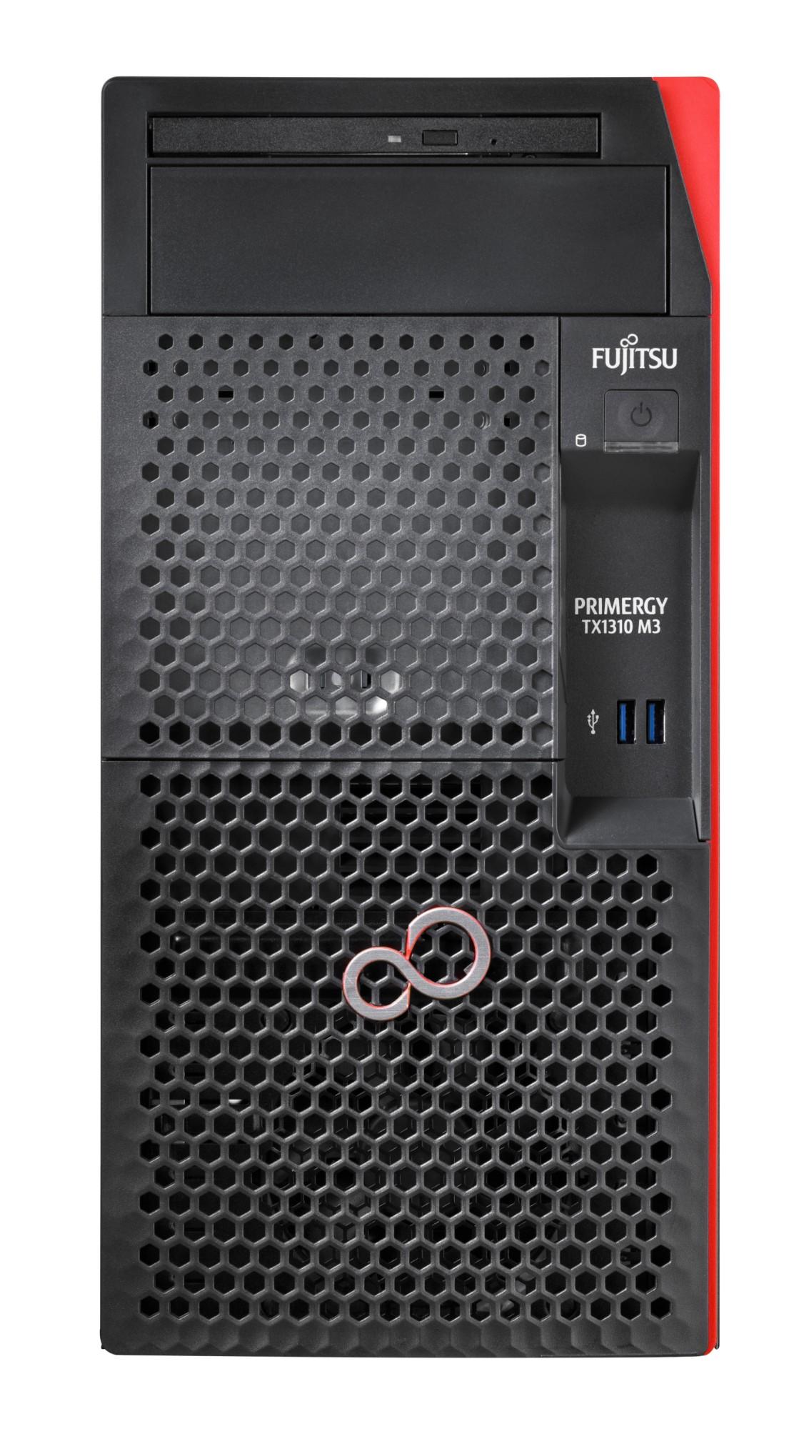 Fujitsu PRIMERGY TX1310 M3 servidor Intel® Xeon® E3 v6 3 GHz 8 GB DDR4-SDRAM Tower 250 W