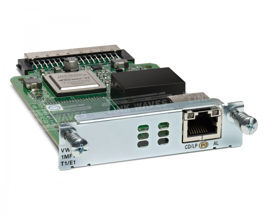 Cisco VWIC3-1MFT-T1/E1= voice network module