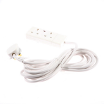 SMJ F2W5MP Indoor 2AC outlet(s) 5m White power extension