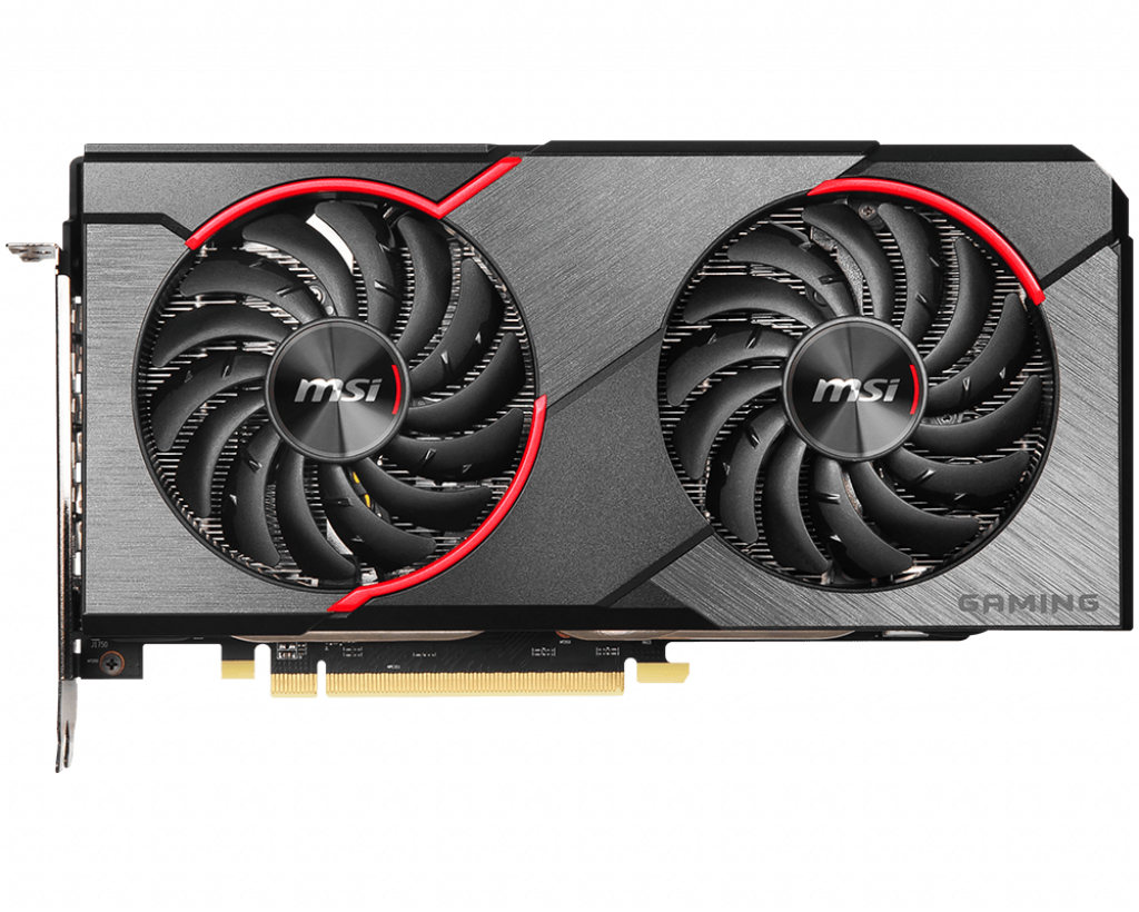 MSI RX 5500 XT GAMING X 8G graphics card Radeon RX 5500 XT 8 GB GDDR6
