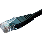 Cablenet 60 6020 networking cable 2 m Cat6 U/UTP (UTP) Black