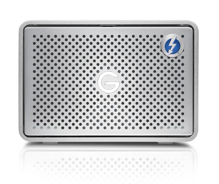 G-Technology G-RAID Thunderbolt 3 8000GB Silver disk array