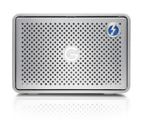 G-Technology G-RAID Thunderbolt 3 disk array 8 TB Silver