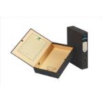 Rexel Classic A4 Lockspring Box File Black/Green (5)