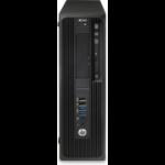 HP Z240 i7-6700 SFF 6th gen Intel® Core™ i7 16 GB DDR4-SDRAM 256 GB SSD Windows 10 Pro Workstation Black